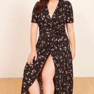 Brand New Reformation 2X Foster Dress